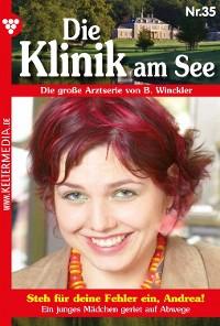 Cover Die Klinik am See 35 – Arztroman