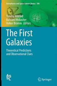 Cover The First Galaxies