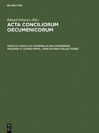 Cover Leonis Papae I. epistularum collectiones