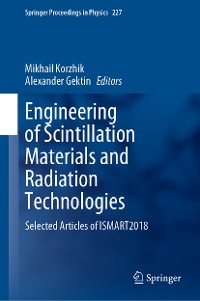 Cover Engineering of Scintillation Materials and Radiation Technologies