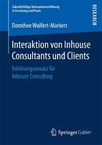Cover Interaktion von Inhouse Consultants und Clients