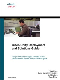 Cover Cisco Unity Deployment and Solutions Guide