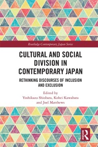 Cover Cultural and Social Division in Contemporary Japan