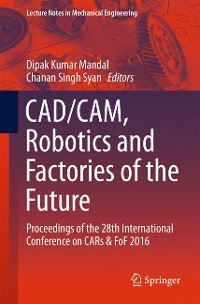 Cover CAD/CAM, Robotics and Factories of the Future