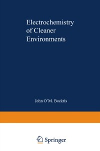 Cover Electrochemistry of Cleaner Environments