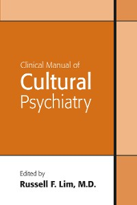 Cover Clinical Manual of Cultural Psychiatry