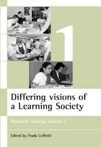 Cover Differing visions of a Learning Society Vol 1