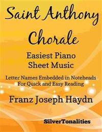 Cover Saint Anthony Chorale Easiest Piano Sheet Music