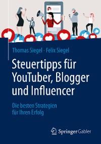 Cover Steuertipps für YouTuber, Blogger und Influencer