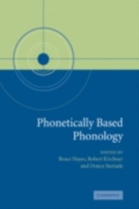 Cover Phonetically Based Phonology