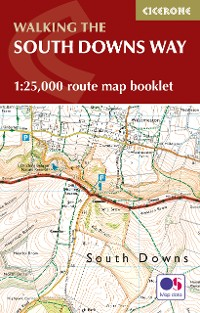 Cover The South Downs Way Map Booklet