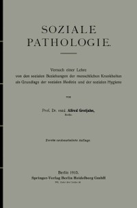 Cover Soziale Pathologie