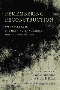 Cover Remembering Reconstruction