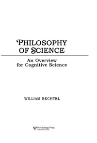 Cover Philosophy of Science