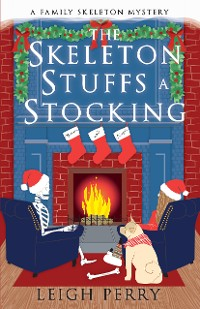 Cover The Skeleton Stuffs a Stocking