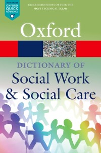 Cover Dictionary of Social Work and Social Care