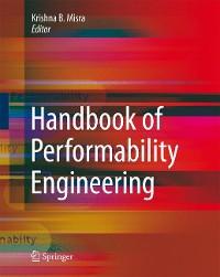 Cover Handbook of Performability Engineering