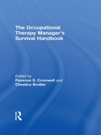 Cover Occupational Therapy Managers' Survival Handbook