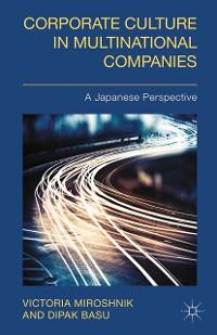 Cover Corporate Culture in Multinational Companies
