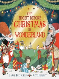 Cover The Night Before Christmas in Wonderland