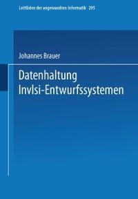 Cover Datenhaltung in VLSI-Entwurfssystemen