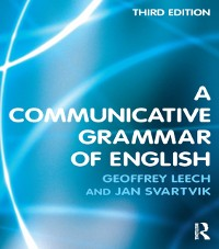 Cover Communicative Grammar of English