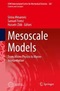 Cover Mesoscale Models