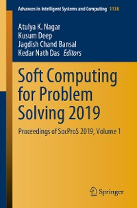 Cover Soft Computing for Problem Solving 2019