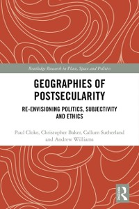 Cover Geographies of Postsecularity