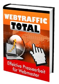 Cover Webtraffic total für Webmaster