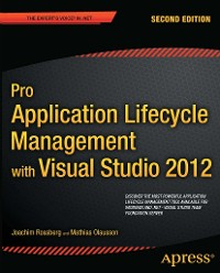 Cover Pro Application Lifecycle Management with Visual Studio 2012