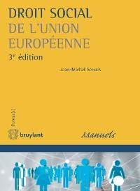 Cover Droit social de l'Union européenne
