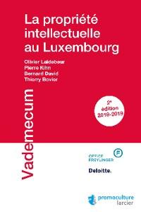 Cover La propriété intellectuelle au Luxembourg
