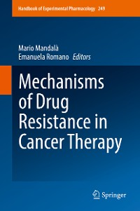 Cover Mechanisms of Drug Resistance in Cancer Therapy