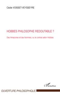 Cover Hobbes philosophe redoutable? - des amazones et des hommes,