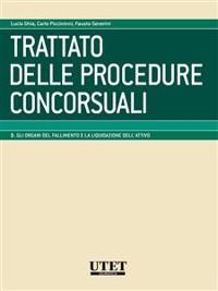 Cover Trattato delle procedure concorsuali vol. III