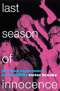 Cover Last Season of Innocence