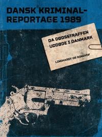 Cover Da dødsstraffen uddøde i Danmark
