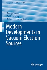 Cover Modern Developments in Vacuum Electron Sources