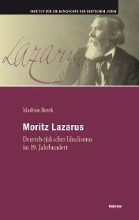Cover Moritz Lazarus