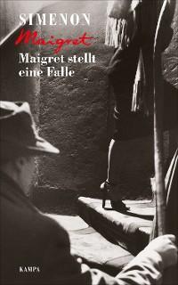 Cover Maigret stellt eine Falle