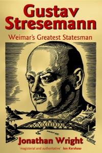 Cover Gustav Stresemann