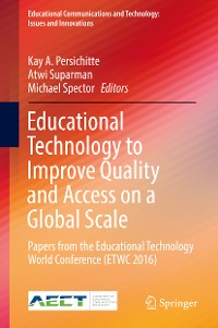 Cover Educational Technology to Improve Quality and Access on a Global Scale