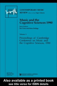 Cover Music and the Cognitive Sciences 1990