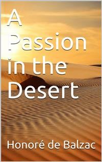 Cover A Passion in the Desert