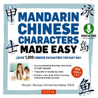 Cover Mandarin Chinese Characters Made Easy