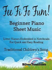Cover Fee Fi Fo Fum Beginner Piano Sheet Music