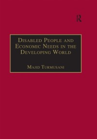 Cover Disabled People and Economic Needs in the Developing World