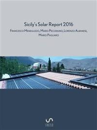 Cover Sicily's solar report 2016