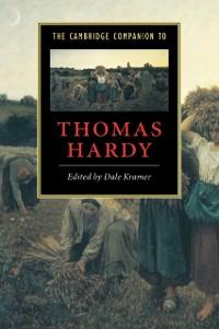 Cover Cambridge Companion to Thomas Hardy